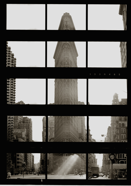 KOICHIRO KURITA,  Flat Iron, New York City,  1991