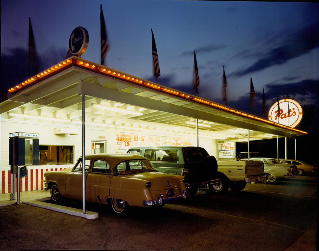 JIM DOW, Pat's Drive-In, Tucson, Arizona , 1980