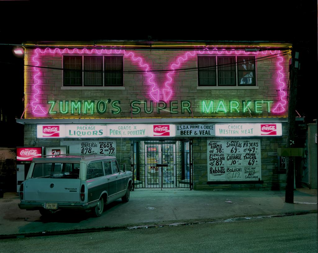 JIM DOW,  Zummo's Supermarket, Airline Highway, US 61, Metarie, Louisiana,  1979