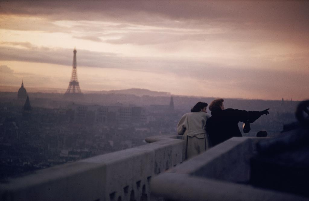 ERNST HAAS,  Views From Notre Dame, Paris, 1955