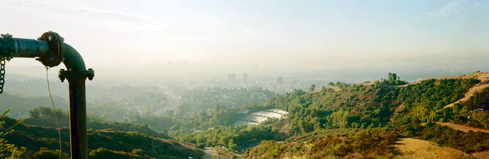 Overlooking Hollywood Bowl