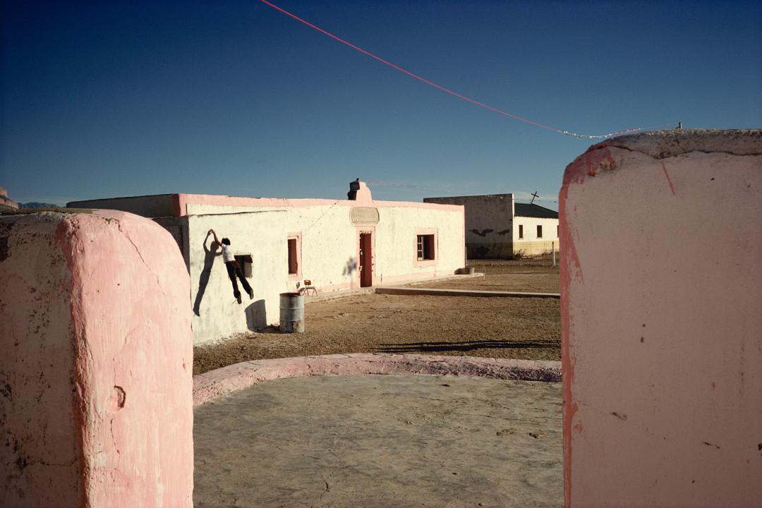 ALEX WEBB,  La Calle, Boquillas, Mexico , 1979