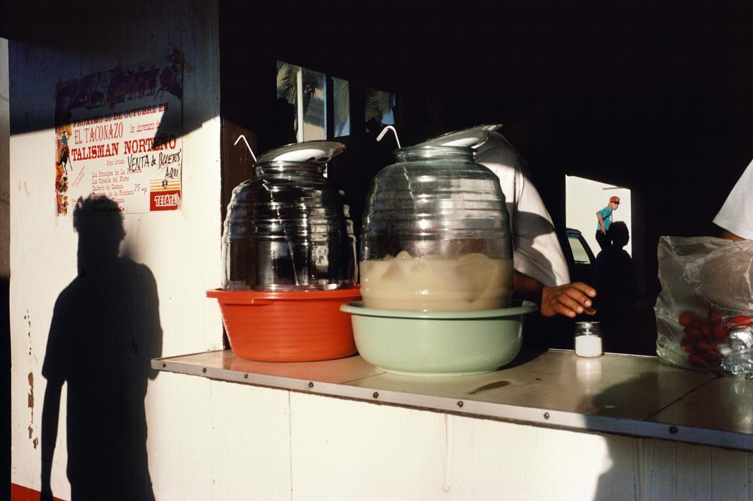 ALEX WEBB,  La Calle,   Tecate, Mexico,  1995