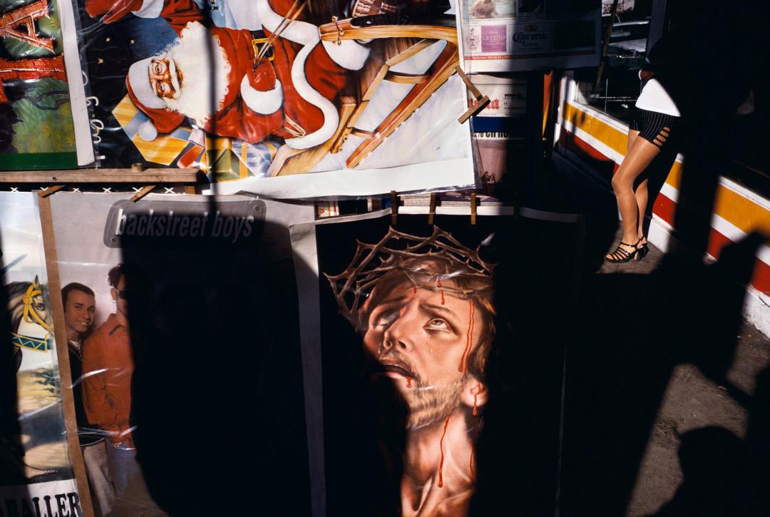 ALEX WEBB,  La Calle, Tijuana, Mexico,  1999