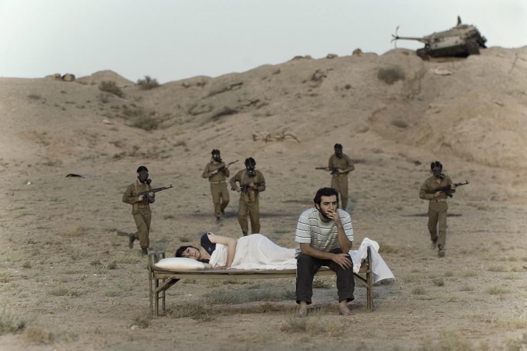 GOHAR DASHTI,  Today's Life and War No. 9 , 2008