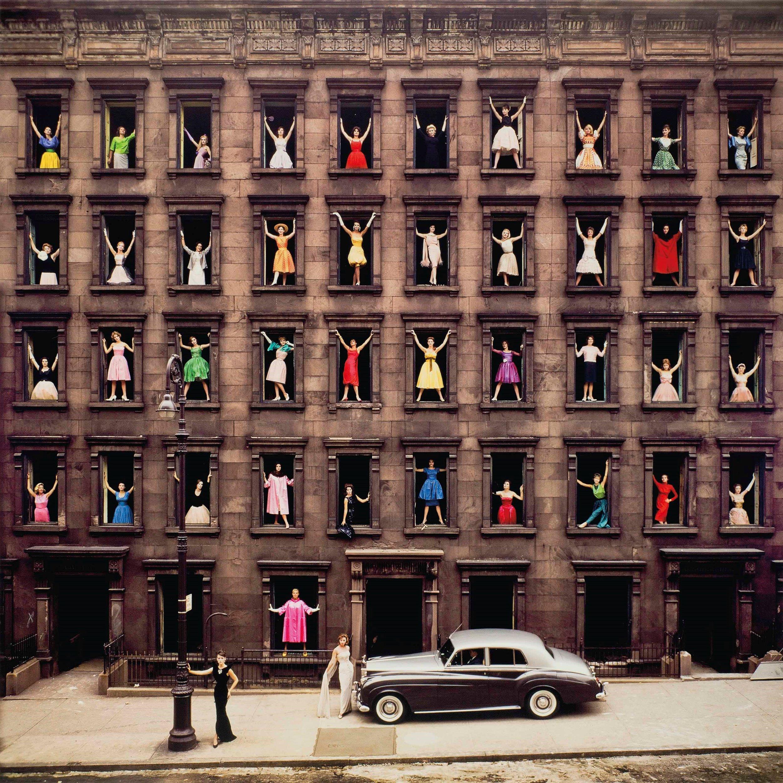 ORMOND GIGLI , Girls in the Windows,  1960