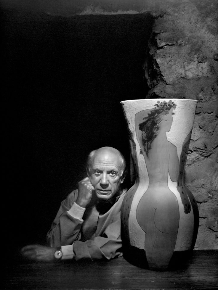 YOUSUF KARSH,  Pablo Picasso,  1954