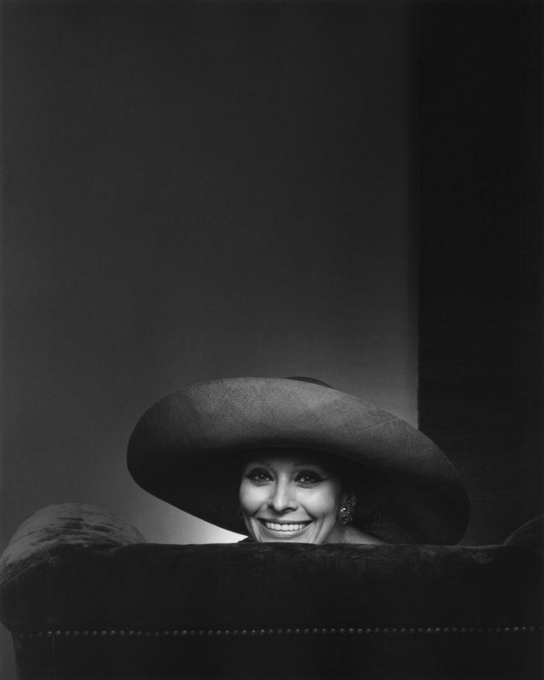 YOUSUF KARSH,  Sophia Loren,  1981