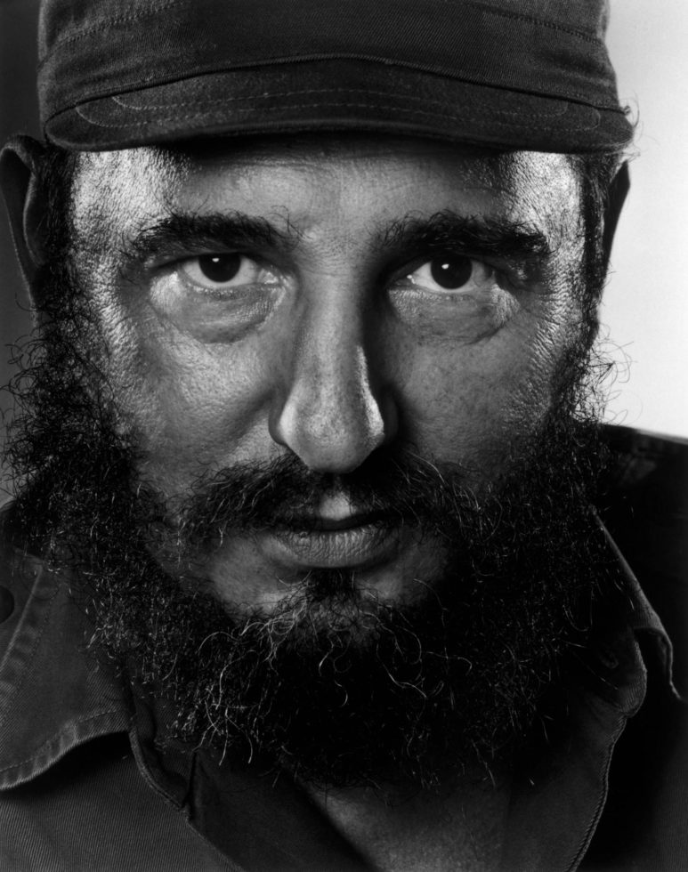 YOUSUF KARSH,  Fidel Castro,  1971