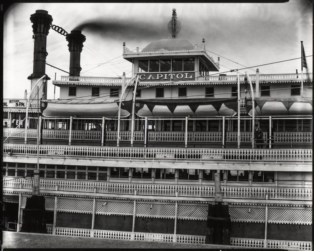 WALKER EVANS,  River Boat, Louisiana,  1936