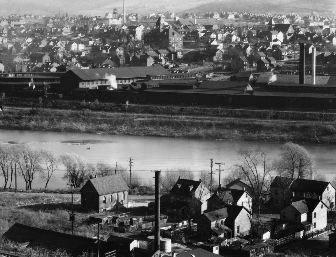WALKER EVANS,  Easton, Pennsylvania,  1935