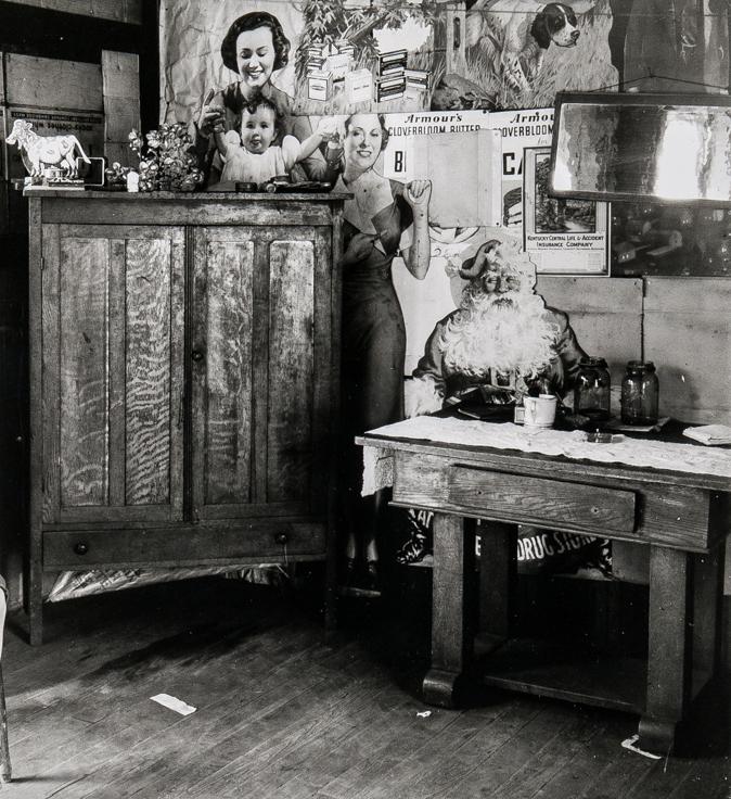 WALKER EVANS,  Coal Miner's House, Scotts Run, West Virginia (detail) , July, 1935