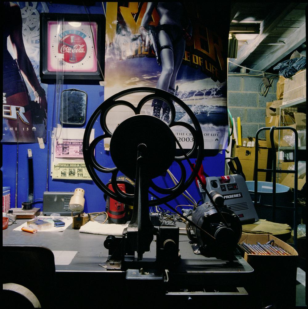 STEFANIE KLAVENS,  Projection Booth