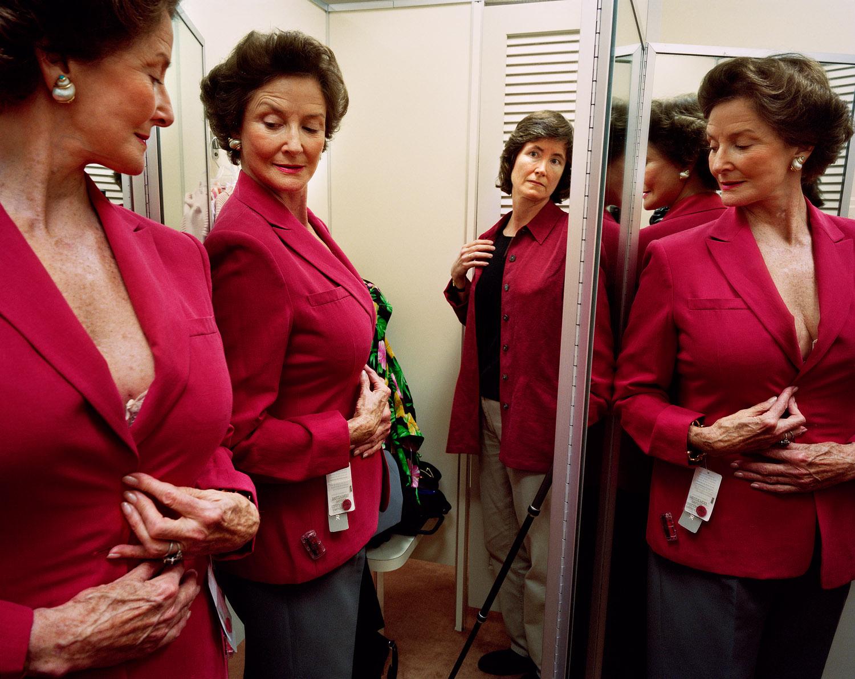 SAGE SOHIER,  Shopping with Mum, Washington, D.C. , 2003