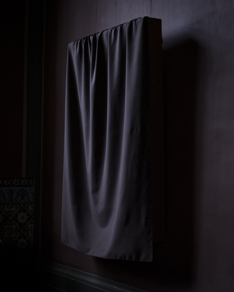 CIG HARVEY,  Draped Curtain at The Museum , 2018