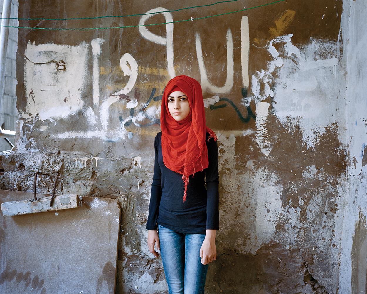 RANIA MATAR, Samira 15, Bourj El Barajneh Refugee Camp, Beirut, 2015