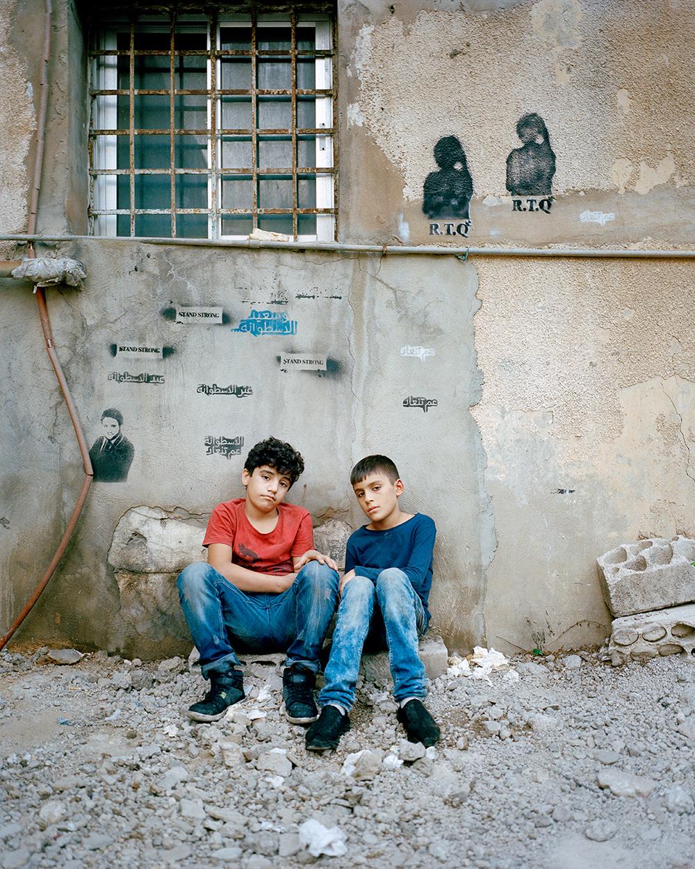 RANIA MATAR, Mohammad and Ahmad, 12 (twins), Beirut, 2016