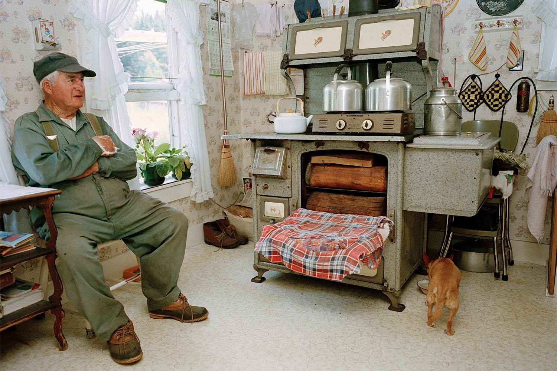 SHERON RUPP,  Mr. Davidson, Walden, Vermont , 1990
