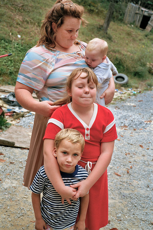 SHERON RUPP,  Mother with Children, Harlan County, Kentucky , 1990