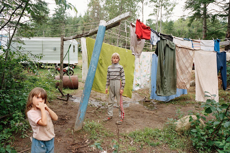 SHERON RUPP,  Stevie, Sutton, Vermont , 1990