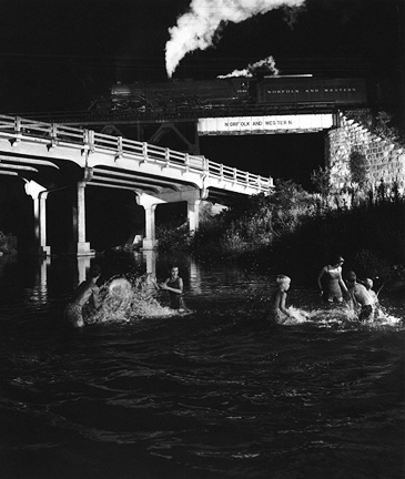O. WINSTON LINK,  Hawksbill Creek Swimming Hole, Luray NW1126,  1958