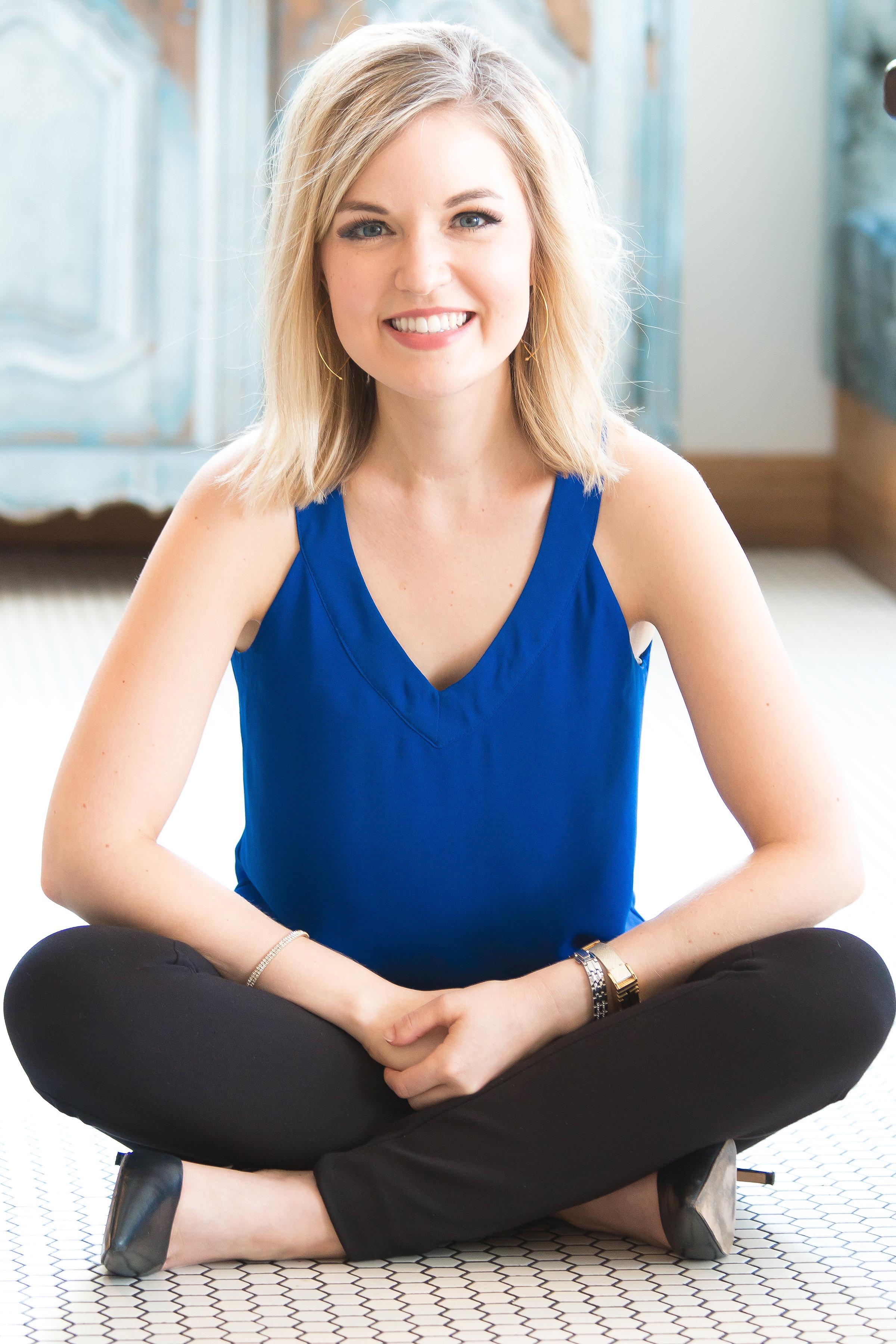 Courtney Elmer Coaching Momprenuers Stress Management