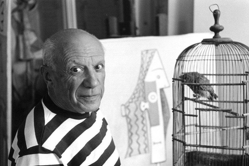 Portrait of Pablo Picasso, Courtesy of Widewalls