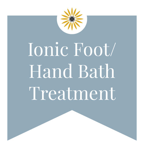 ionic foot/hand bath treatment