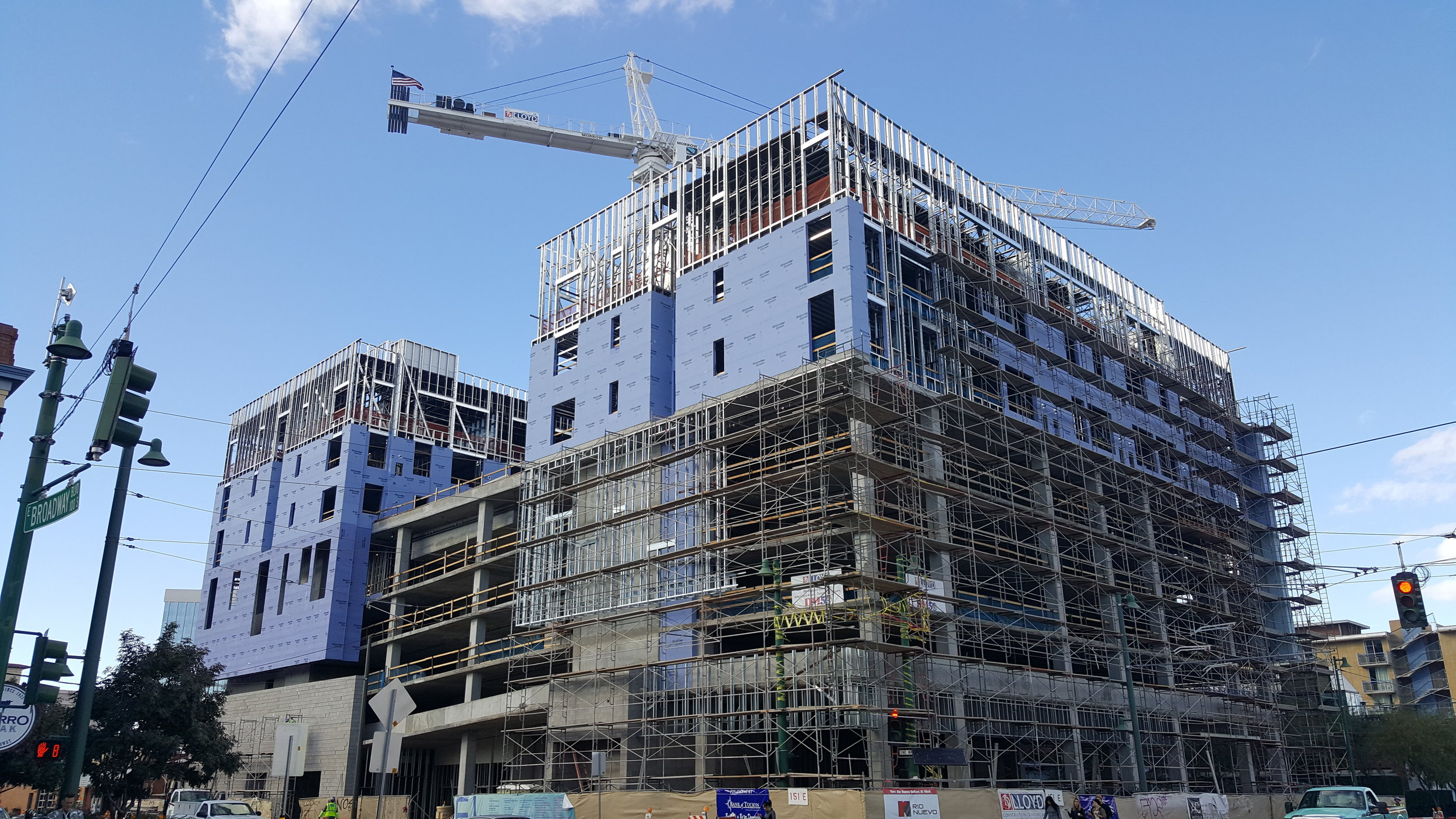 Marriott Hotel Downtown Tucson General Contractor: Lloyd Construction Mechanical