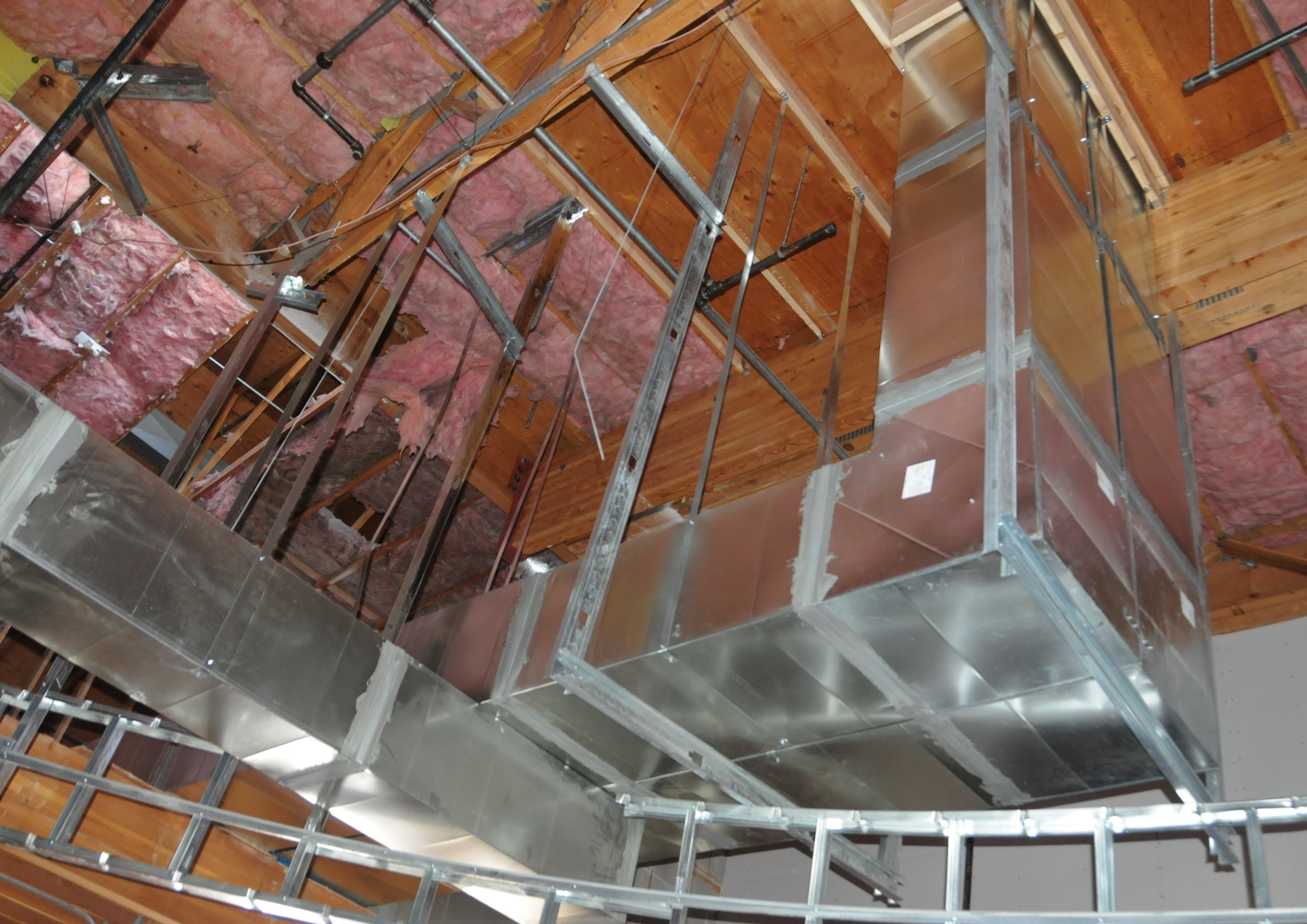 Chuze Fitness General Contractor: Epstein Construction LLC Mechanical