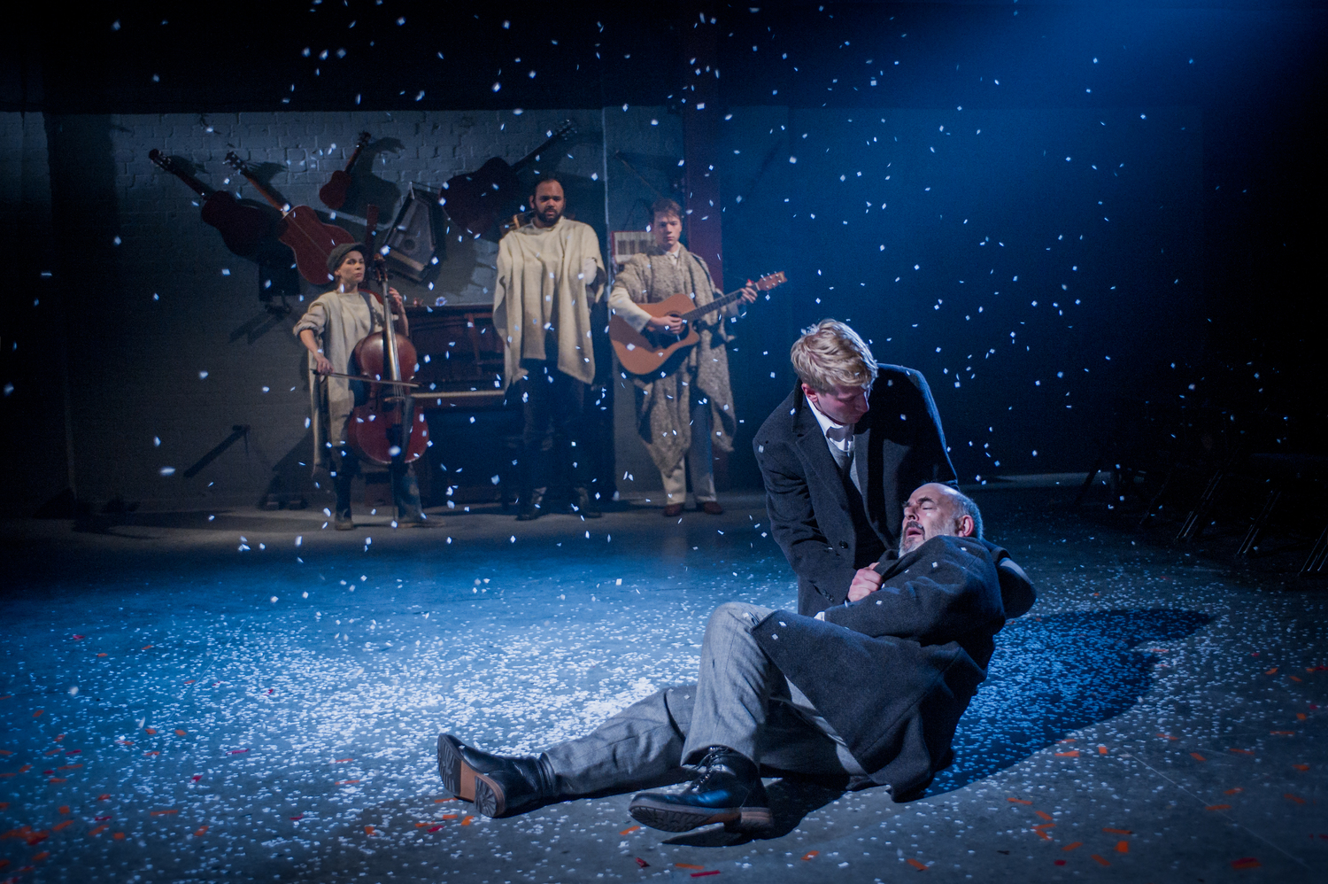 Harry Livingstone & Richard Albrecht in As You Like It, composed by Jude Obermüller (photo by Robert Workman)
