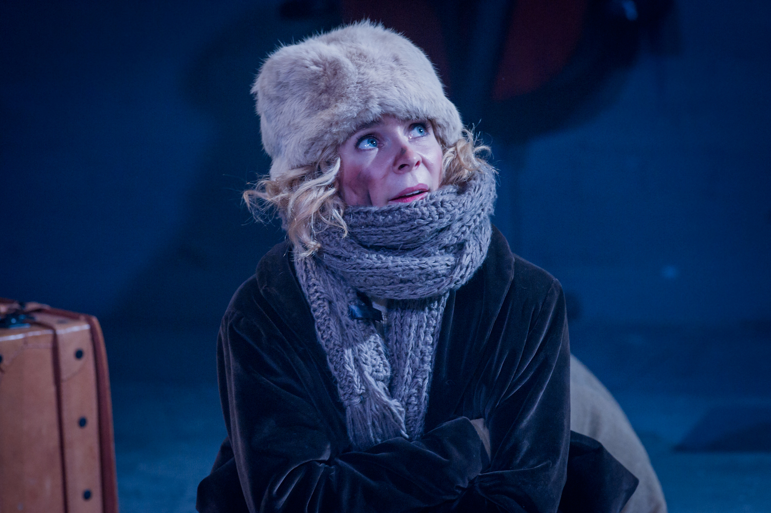 Kaisa Hammarlund in As You Like It, composed by Jude Obermüller (photo by Robert Workman)