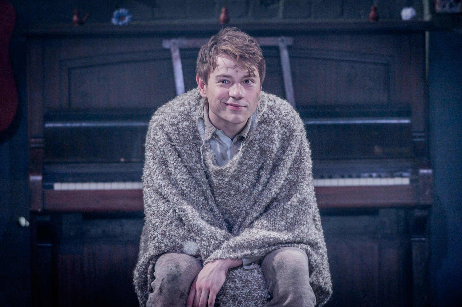 Sam Townsend in As You Like It, composed by Jude Obermüller (photo by Robert Workman)