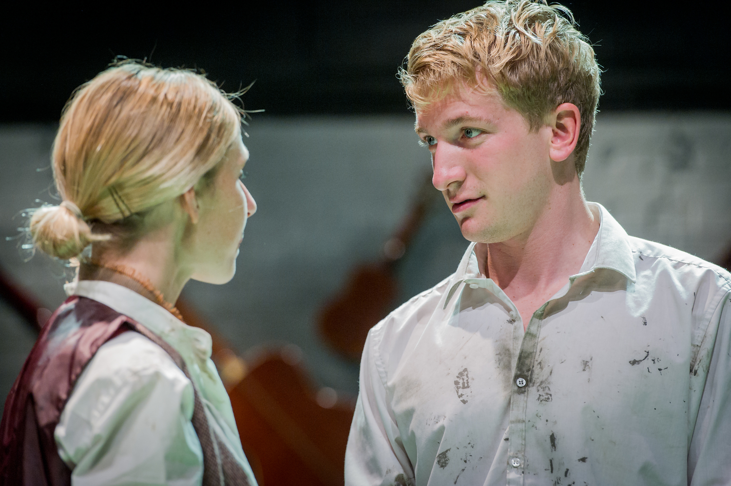 Harry Livingstone & Sally Scott in As You Like It, composed by Jude Obermüller (photo by Robert Workman)