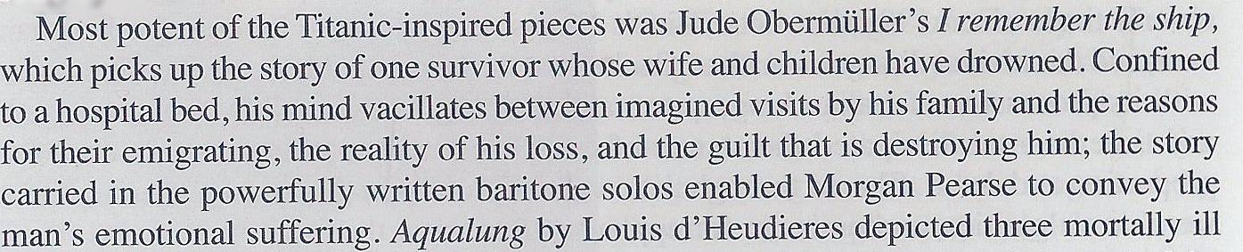 Margaret Davies, Opera Magazine, July 2012