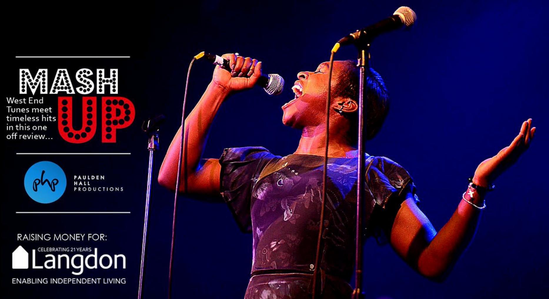 Cynthia Erivo performing as part of Mash Up
