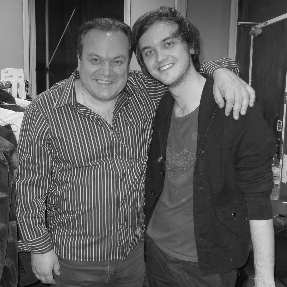 with Shaun Williamson