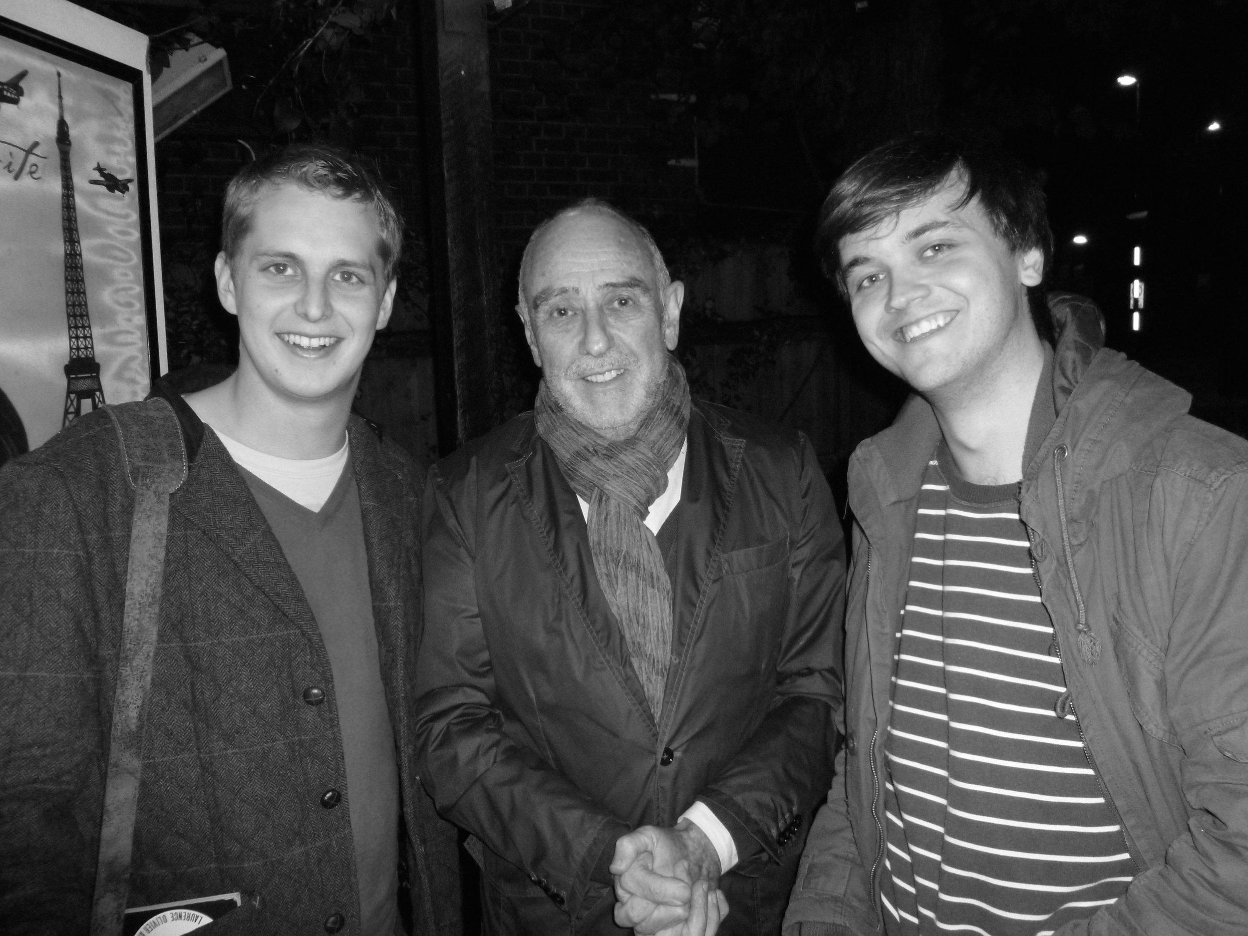 Guy Unsworth, Claude-Michel Schönberg & Jude Obermüller (Press Night 2012)