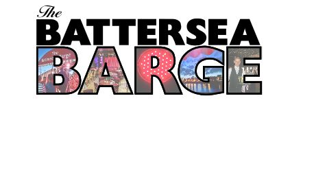 The Battersea Barge, London, Samantha Barks, with composer Jude Obermüller.jpg
