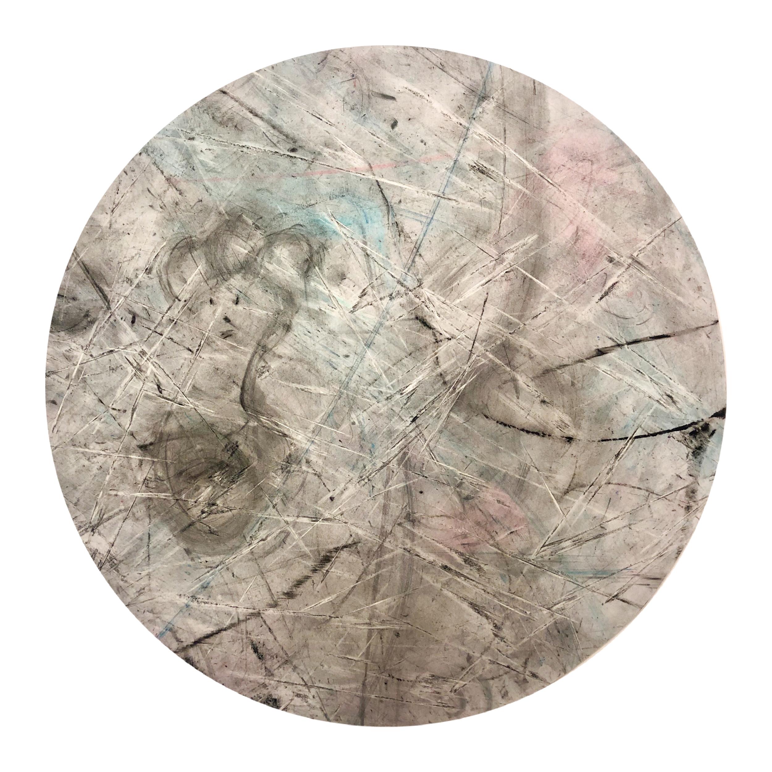 Käkkärä / Frizzy  ø40cm/Charcoal/Pastels/HulaHoops
