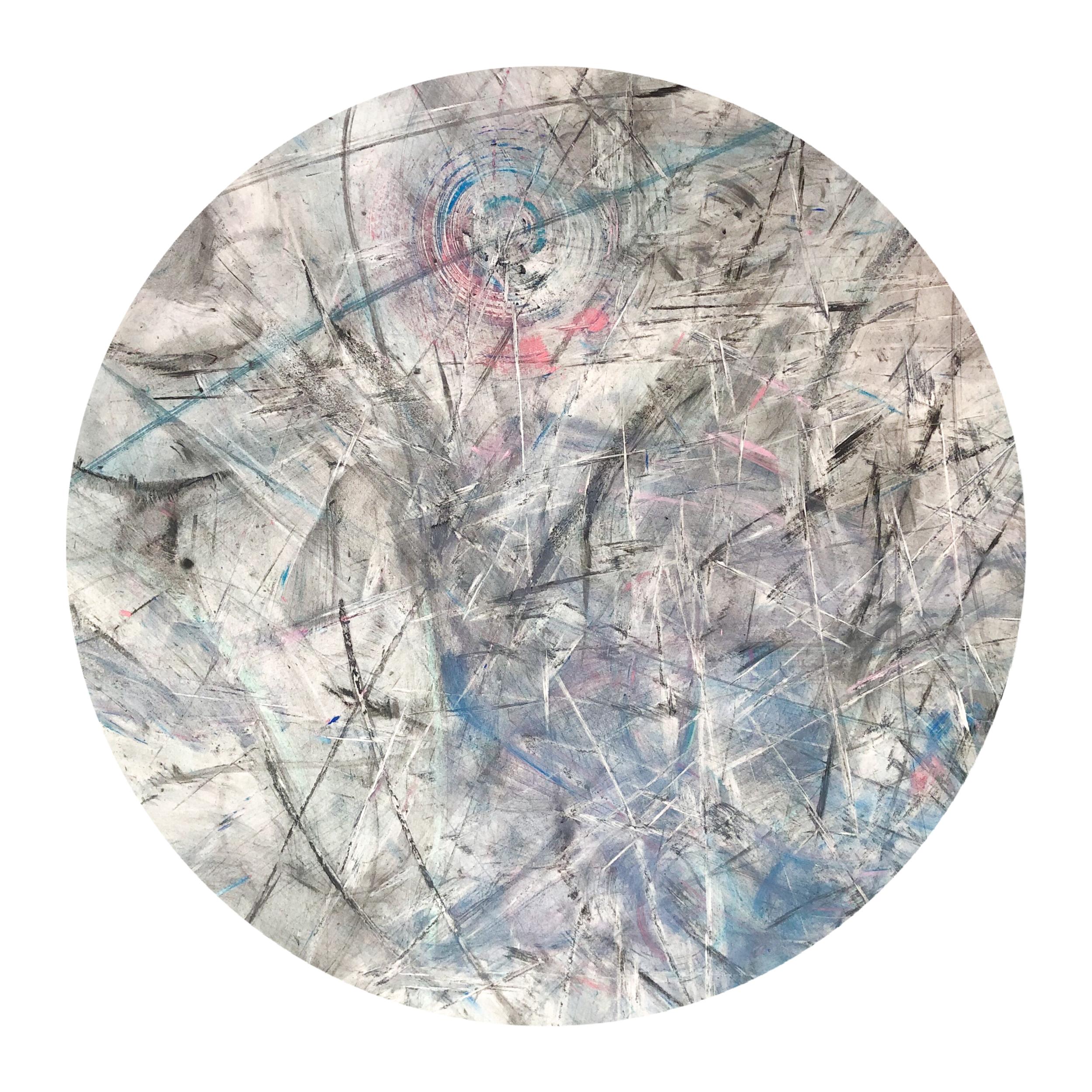 Midnight Sun  ø40cm/Charcoal/Pastels/HulaHoops