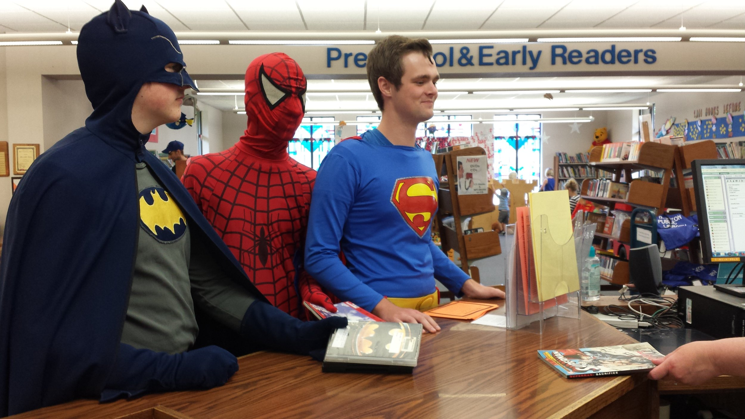 Super Heroes are Great Readers