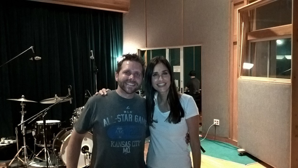 Susanna with Gregg Lohman at The Sound Kitchen