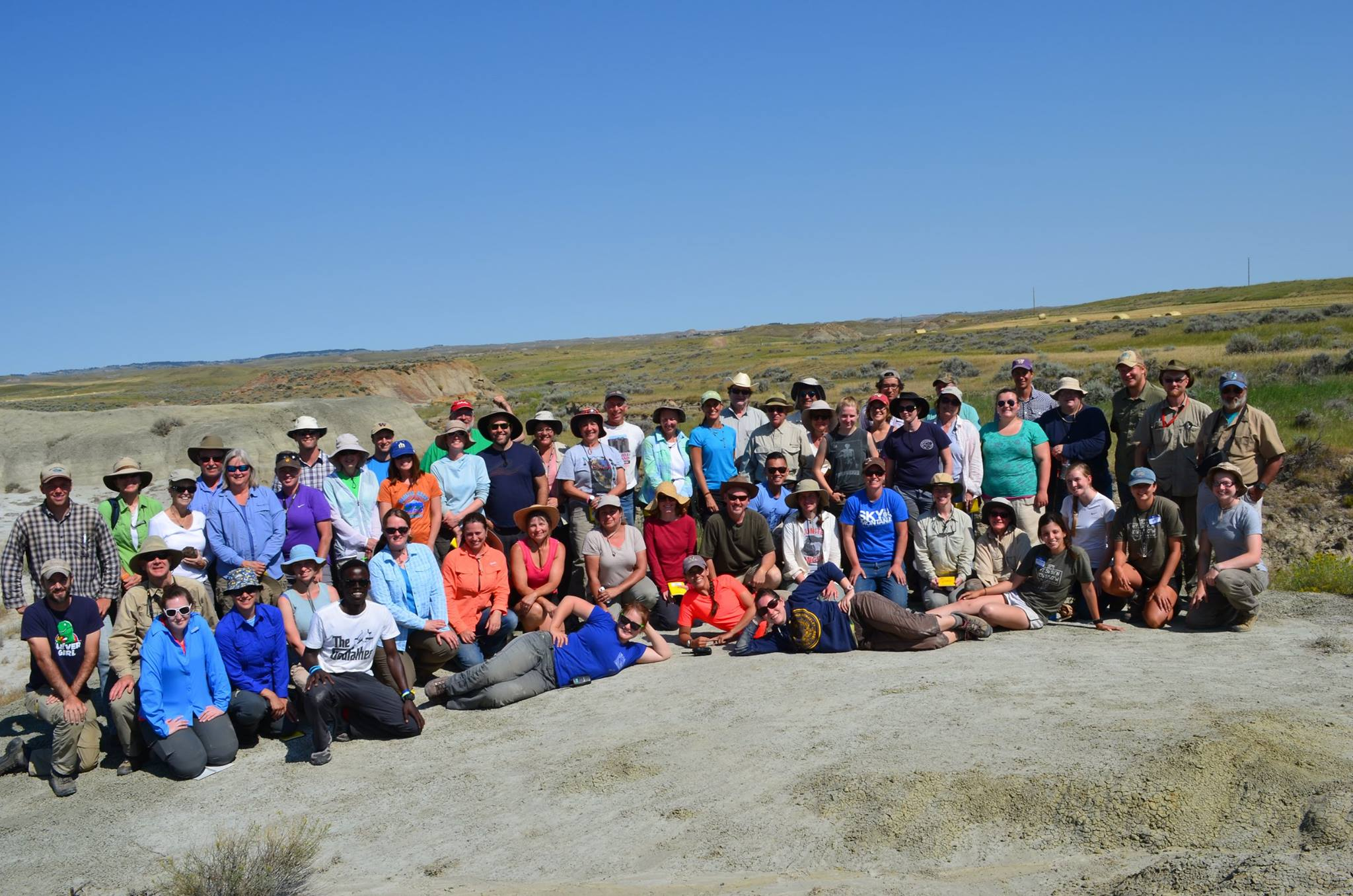 All DIG teachers and instructors, 2015. I'm in the front laying on the ground in the blue shirt.