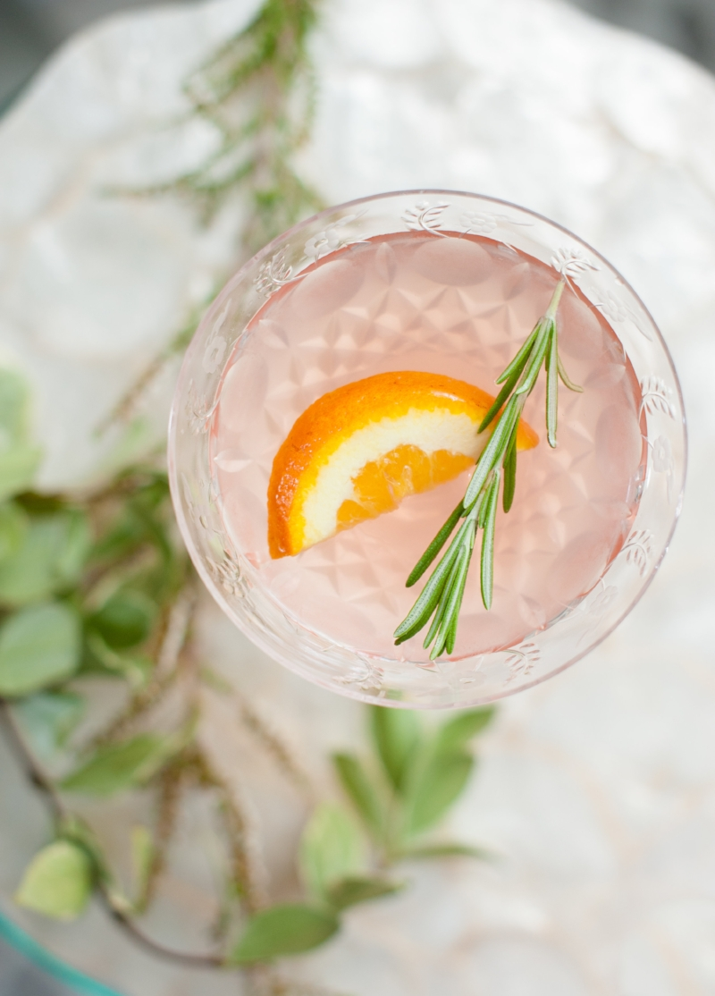 Bastille Day Cocktails || The French Tart || Lisa Stoner Events
