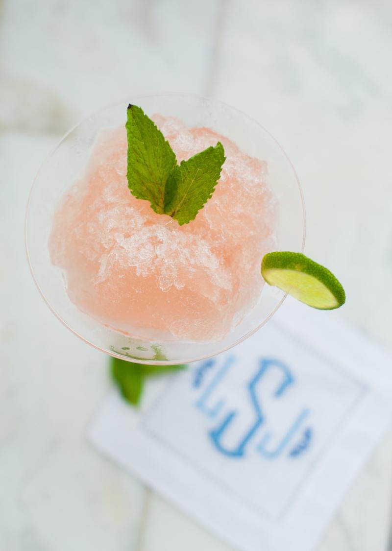 Bastille day Cocktails || Frosé || Lisa Stoner Events
