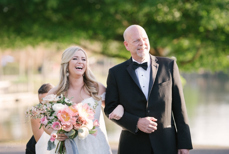 Bride + Father Processional || Lisa Stoner Events || Jordan Weiland Photography