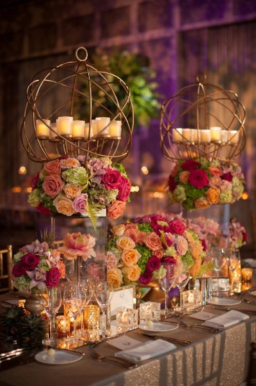 Lisa Stoner Events - Orlando Luxury Weddings - Four Seasons Orlando -  Wedding - Garden Wedding - modern wedding - modern centerpieces .jpg