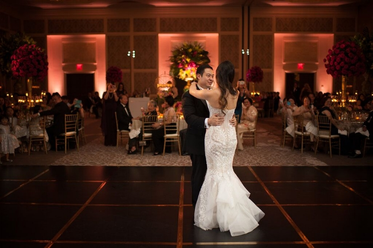 Lisa Stoner Events - Orlando Luxury Weddings - Four Seasons Orlando -  Wedding Reception - Garden Wedding - unique dancefloor - wedding lounge furniture.jpg