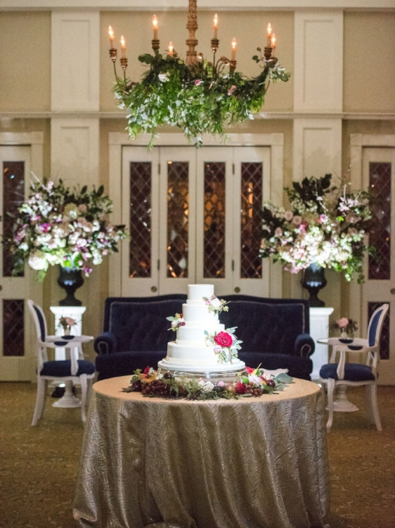 Lisa Stoner Events - Luxury Central Florida Weddings - Orlando Weddings - Classic Southern Wedding - Winter Park -Interlachen Country Club - Sprinkles Cakes - wedding cake.jpg